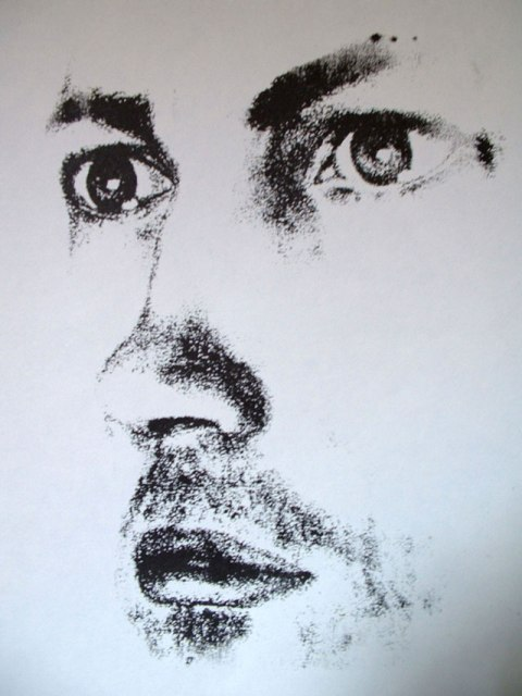 Portrait of john oil paint portrait for a retirement pencil